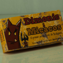 boardgame: Dimonis&micacos. A Illustration, Character Design, Game Design, Graphic Design, Industrial Design, and Vector Illustration project by Bernat GL - 04.20.2016