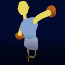 Boxer Test: Mi Proyecto del curso: Animación 2D con Photoshop. A Animation, and Character animation project by Germán Fúquene - 04.04.2018