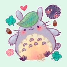 Totoro - Mi vecino Totoro. Um projeto de Ilustração e Design de personagens de Ainoa Flores - 13.11.2017