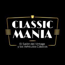 Logotipo Classic Mania. Un proyecto de Dirección de arte, Diseño y Diseño gráfico de Javier Gómez Ferrero - 07.04.2018