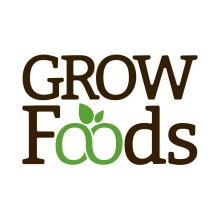 Logotipo Grow Foods. Un proyecto de Diseño, Dirección de arte, Br, ing e Identidad, Diseño gráfico, Tipografía, Naming y Diseño de iconos de Javier Gómez Ferrero - 22.03.2018