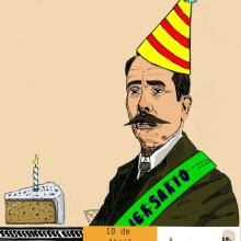 Aniversario Pedro Ibarra.. Un proyecto de Ilustración, Educación, Bellas Artes y Cómic de Alejandro Fuentes Alonso - 10.04.2018