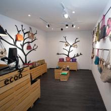 Tienda de bolsos ECOB. A Furniture Design & Interior Architecture project by laurensschocher - 04.20.2018