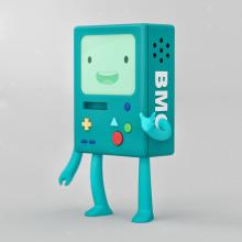 BMO Adventure Time. A 3-D project by Adrián Dafonte Gómez - 30.01.2018