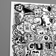 POSTER ILUSTRADO. Un proyecto de Ilustración, Cómic, Ilustración vectorial y Diseño de iconos de Julio Pinilla - 25.04.2018