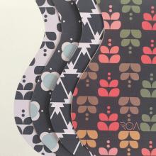 PIEZA PROMOCIONAL: PATTERNS DE PAPEL PARA VESTIR RECIPIENTES. Un proyecto de Diseño de producto de Valeria Roa - 01.05.2018