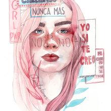 No nos callamos más.. Un proyecto de Ilustración de Amalia Torres - 06.05.2018