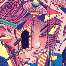 Calles Corazón. A Digital illustration project by Julian Ardila - 10.01.2017