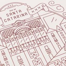 A Love Letter to Porto. Un proyecto de Diseño gráfico, Ilustración vectorial e Ilustración digital de Borja Acosta de Vizcaíno - 07.05.2018