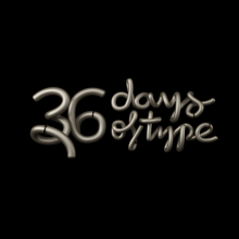 36 Days Of Type 2018. A 3D, T, pograph, and 3D Animation project by Rebeca G. A - 05.10.2018