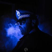 Police Man BMWX2. Un proyecto de Eventos, Fotografía y Retoque fotográfico de Javier Gómez Ferrero - 23.02.2018