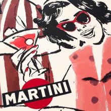 Martini 1961. Un proyecto de Ilustración, Publicidad, Diseño gráfico, Caligrafía y Dibujo de Ink Bad Company - 14.05.2018