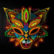 BARRANQUILLA CARNIVAL MASK. Un proyecto de Ilustración, Dirección de arte, Artesanía y Papercraft de Dani de Julio - 18.05.2015