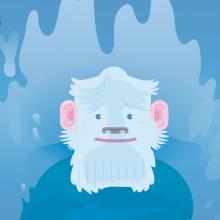 Las vacaciones de Bigfoot (cuento infantil). Un proyecto de Ilustración digital de Eloy Sánchez-Vizcaíno Mengual - 24.05.2018