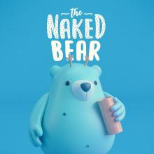 THE NAKED BEAR  (Diseño de personajes en Cinema 4D: del boceto a la impresión 3D). A Design, 3-D, Design von Figuren, Spielzeugdesign und 2-D-Animation project by Joseph Rodríguez - 28.05.2018