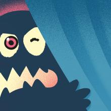 Mi padre es un monstruo. Un proyecto de Ilustración digital de Eloy Sánchez-Vizcaíno Mengual - 28.05.2018