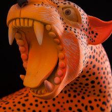 JaguarMex. Un proyecto de Ilustración, Diseño de personajes, Bellas Artes y Escultura de Mitote Rodela - 30.05.2018
