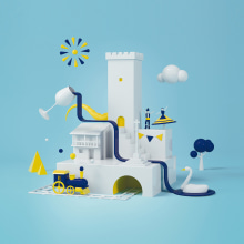 Concurso Festas Patronais Monforte de Lemos. Un proyecto de 3D de Guzmán Saco Posse - 31.05.2018