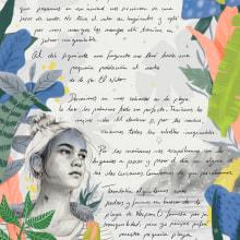 Ilustración para Condé Nast Viajes. Un proyecto de Ilustración, Diseño editorial e Ilustración de retrato de Beatriz Ramo (Naranjalidad) - 01.01.2018
