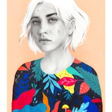 Mexico. Un proyecto de Ilustración e Ilustración de retrato de Beatriz Ramo (Naranjalidad) - 15.01.2018