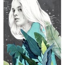 Terapia. Un proyecto de Ilustración e Ilustración de retrato de Beatriz Ramo (Naranjalidad) - 15.06.2018