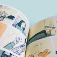 Espantapájaros - Novela Gráfica. A Illustration project by Marina Montero - 07.09.2018