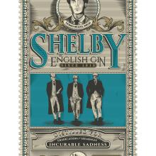 Gin Shelby. Un proyecto de Diseño, Ilustración, Packaging, Ilustración vectorial e Ilustración digital de Samuel Juan Lora - 16.07.2018