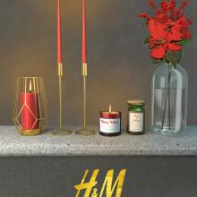 H&M Home. Un proyecto de Publicidad, 3D, Br e ing e Identidad de Laura Molina Sepúlveda - 19.07.2018