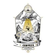Técnicas de grabado digital  // Cerveza. A Vector Illustration project by Diego Jkr - 02.22.2018