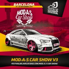 Evento Festival de la Velocidad Barcelona - MOD.A.S Car Show. Un proyecto de Diseño, Publicidad, Dirección de arte, Br, ing e Identidad y Eventos de Javier Gómez Ferrero - 26.07.2018