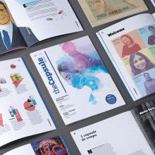 TheCapsule by Uriach (Editorial). Un proyecto de Diseño editorial de Vibranding - 01.06.2018