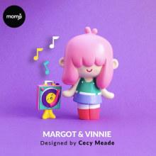 MOMIJI . A Design, 3-D, Design von Figuren und Spielzeugdesign project by Cecilia Meade - 07.08.2018