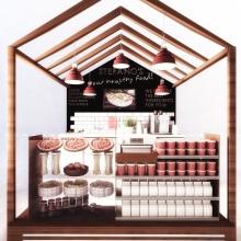 Diseño de stands. A 3D, Furniture Design, Interior Architecture & Interior Design project by Sara Gonzalez - 08.06.2015