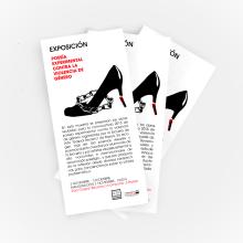Campaña publicitaria para exposición poesía experimental contra la violencia de genero.. A Design, Illustration, Installations, and Art Direction project by Gabriel Fernández - 11.02.2016