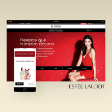 ESTEE LAUDER. A UI / UX, and Web Design project by Julieta Kozlowski Cherñajovsky - 12.10.2016
