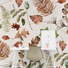 Surface and pattern design: Especímenes de invierno. . Um projeto de Design, Ilustração, Arquitetura de interiores, Design de interiores, Pattern Design e Pintura em aquarela de Marisol Ormanns - 11.08.2018