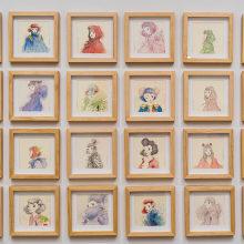 Nuevo proyectoHabitante: 70 small drawings. . Un progetto di Illustrazione, Disegno , e Pittura ad acquerello di Violeta Hernández - 23.08.2018