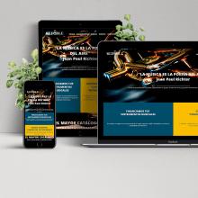 """""""El Redoble"""": Proyecto Desarrollo Web Responsive con HTML y CSS. Un proyecto de Diseño Web y Desarrollo Web de Miguel Lama - 24.08.2018"""
