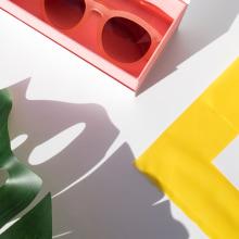 Color Block collection. A Illustration, Kunstleitung, Br, ing und Identität, Mode, Grafikdesign, Marketing und Verpackung project by Laura Inat - 10.08.2018