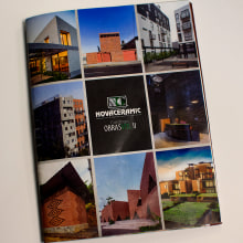 Mi Proyecto del curso: Arte final: Catalogo de obras Vol II Novaceramic. Um projeto de Design editorial de Rafael Cortes Casas - 28.08.2018