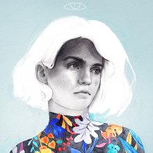 Tú. Un proyecto de Ilustración e Ilustración de retrato de Beatriz Ramo (Naranjalidad) - 15.06.2018
