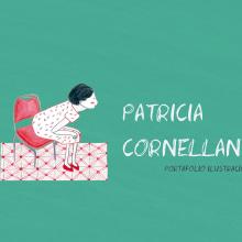 Mi Proyecto del curso: Claves para crear un portafolio de ilustración profesional. A Illustration, and Portfolio Development project by Patricia Cornellana - 09.04.2018