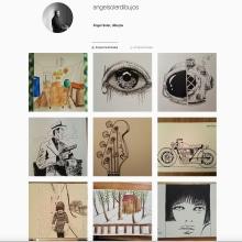 Mi Proyecto del curso: De principiante a superdibujante @angelsolerdibujos. A Illustration, Drawing, and Artistic drawing project by Angel Francisco Soler Cano - 09.10.2018