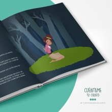 Creación de marca e ilustraciones para cuentos. Un proyecto de Ilustración, Diseño editorial, Diseño gráfico y Diseño de logotipos de Estefanía Martínez Serrano - 10.09.2018
