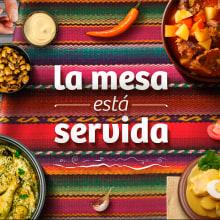 La Mesa está Servida - Marca Perú. Um projeto de Direção de arte e Design gráfico de Victor Andres - 15.07.2018
