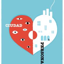 Ciudad persona 18. Un proyecto de Diseño, Diseño de carteles y Diseño gráfico de lucia verdejo - 11.09.2018