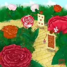 Alicia. Un projet de Illustration et Illustration numérique de Marta Elza - 28.06.2018