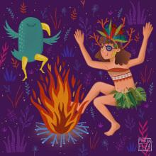 Maello. Un projet de Illustration et Illustration numérique de Marta Elza - 07.09.2018