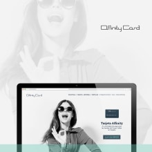 Web empleados Affinity Card_Grupo Inditex. Un proyecto de Dirección de arte, Diseño gráfico y Diseño Web de María Criado - 12.09.2018