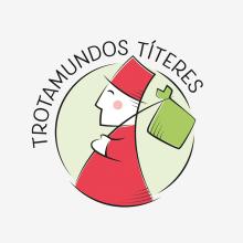 Trotamundos Títeres. Um projeto de Esboçado, Br, ing e Identidade e Design de logotipo de Xana Morales - 13.03.2017